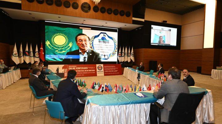 Международная онлайн видео-конференция, организованная Конфедерацией государственных служащих Турции «Memur-Sen» по случаю 1 мая – Международного дня труда
